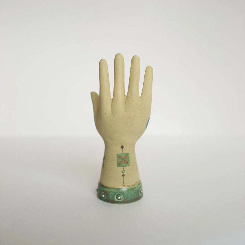 Ceramic Hand: Front View