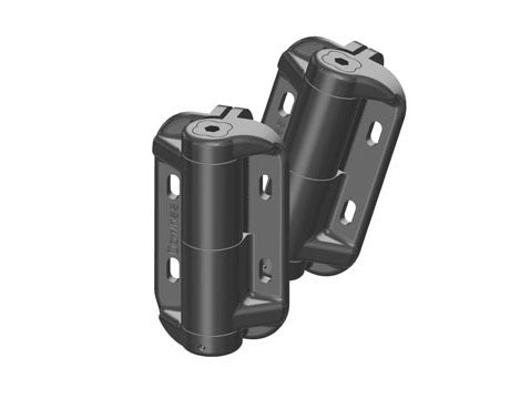 MAX Slimline Hinge Set - Self Close W/ Adjustable Tension