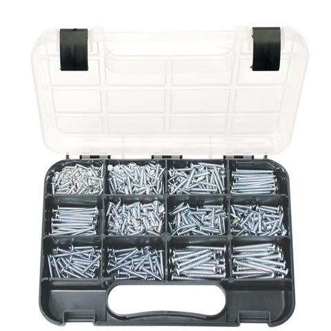 Self Tapping Screw Assortment - Pan Head Slot