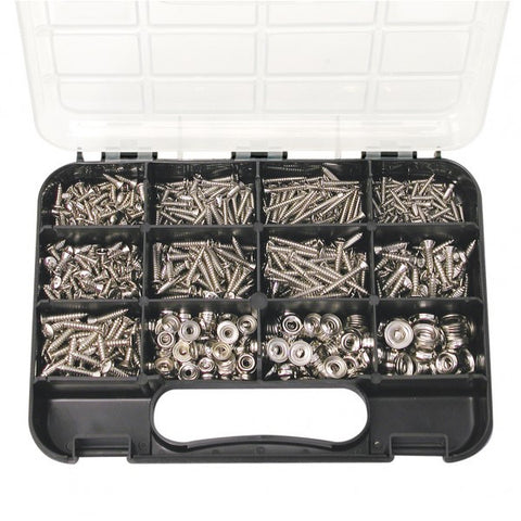 Self Tapping Screw Assortment - Raised Head Phillips