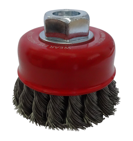 Josco Twistknot Cup Brush 75mm