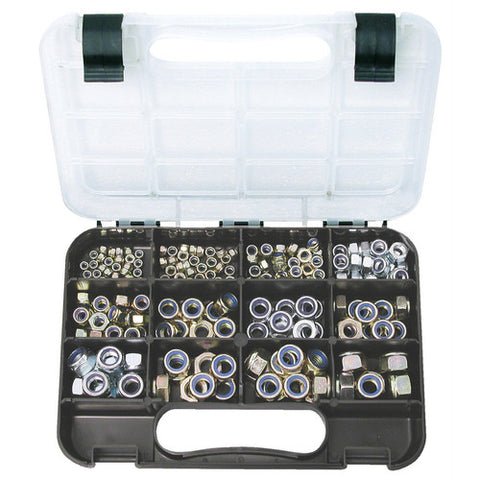 Nylon Insert Self Locking Nut Assortment - Metric