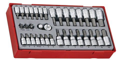 "Teng TTBS35 Socket Set 1/4"" - 3/8"" 35pce"
