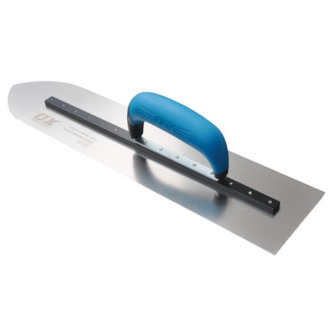 OX Professional S/S Pointed Finishing Trowels
