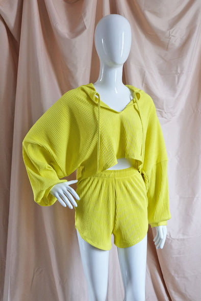 Kali Set with Hoodie - Citron