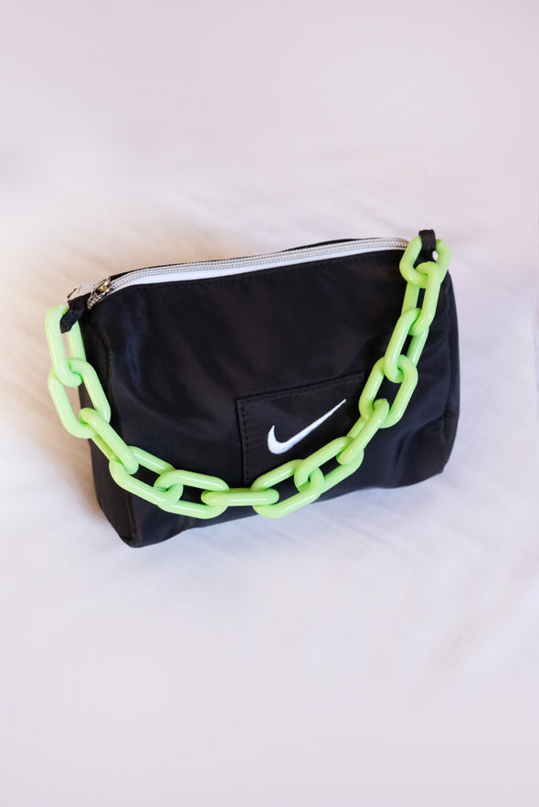 Retro Nike Chain Bag - Black