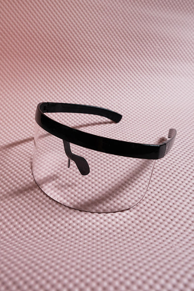 Eye Shield Visor - Black Frame