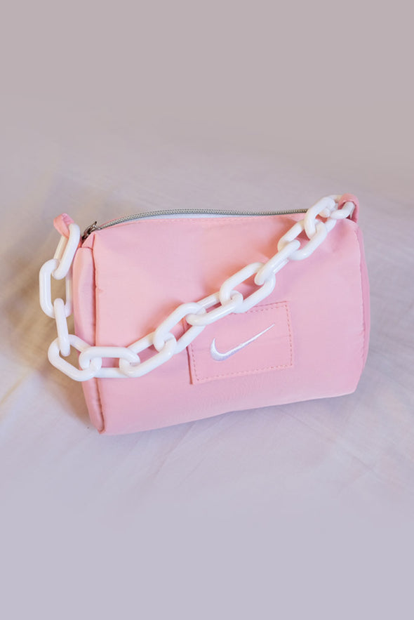 Retro Nike Chain Bag - Pink
