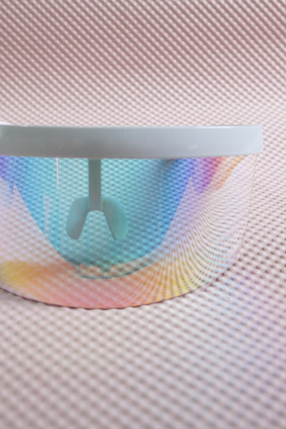 Eye Shield Visor - Iridescent