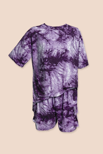 Slow Down Tie Dye Set - Haze