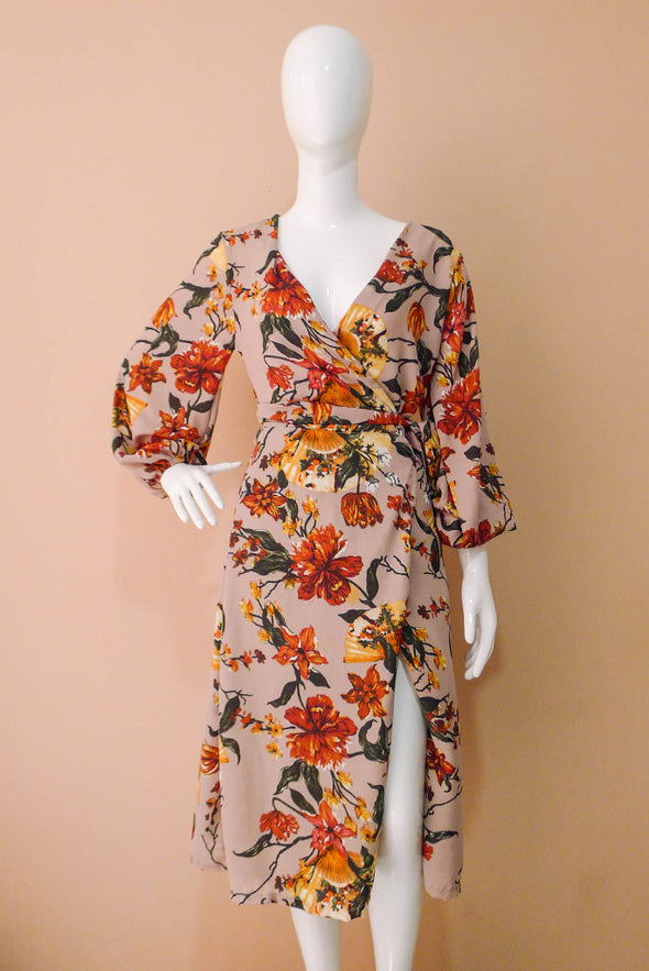 Valeria Wrap Dress