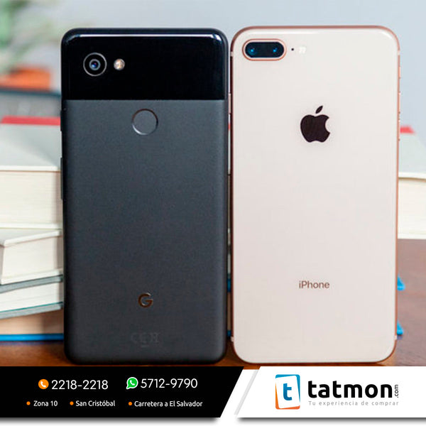 iPhone 8 Plus vs Google Pixel 2 XL, ¿cuál es más resistente?