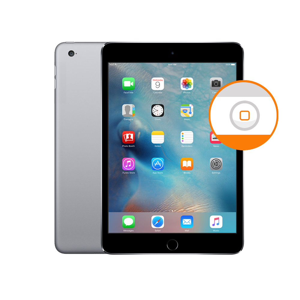 Cambio del Botón Home iPad Mini 4