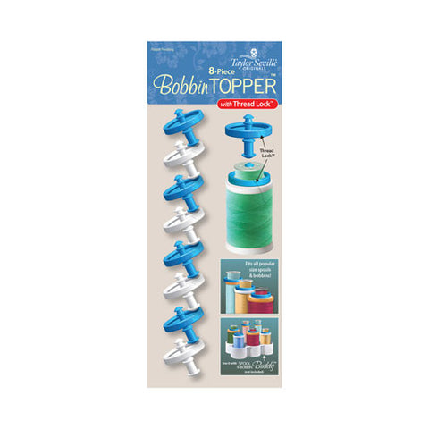 8 Piece Bobbin Topper