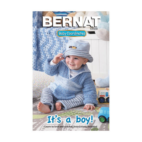 Bernat Books Baby Coordinates - It's A Boy