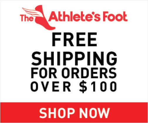 The Athlete's Foot - Free Shipping*