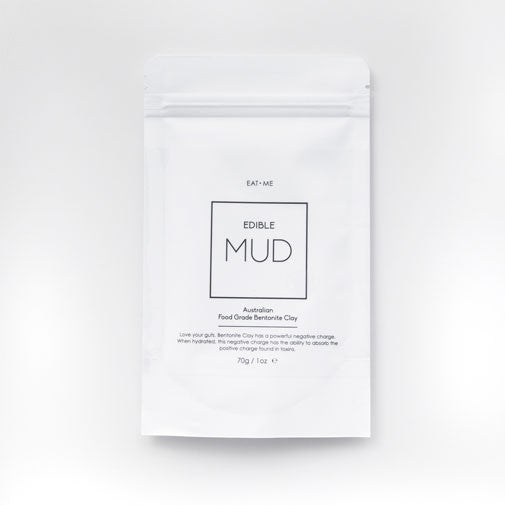 Edible Mud - Food Grade Bentonite Clay