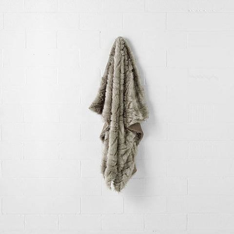 Linen House - Desert Fox 140cm x 180cm Throw