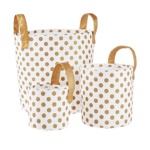 Linen House - Dotty Storage Basket