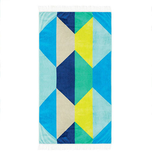 Linen House - Hex 95cm x 175cm Beach Towel
