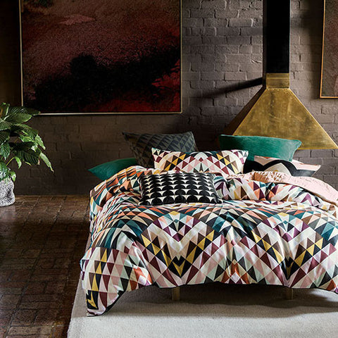 Linen House - Hoffman Quilt Cover Set