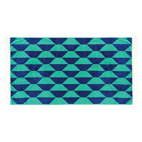 Linen House - Pave 95cm x 175cm Beach Towel