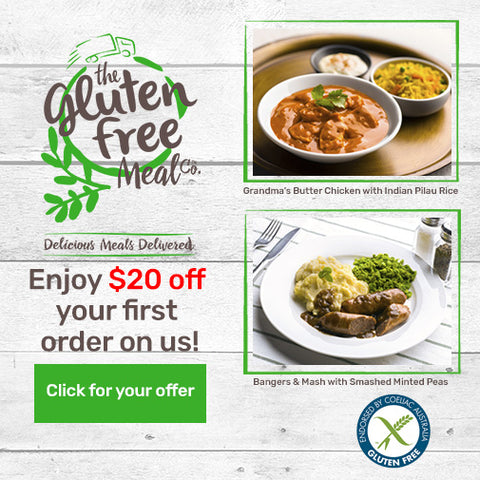 The Gluten Free Meal Co - $20 off first order