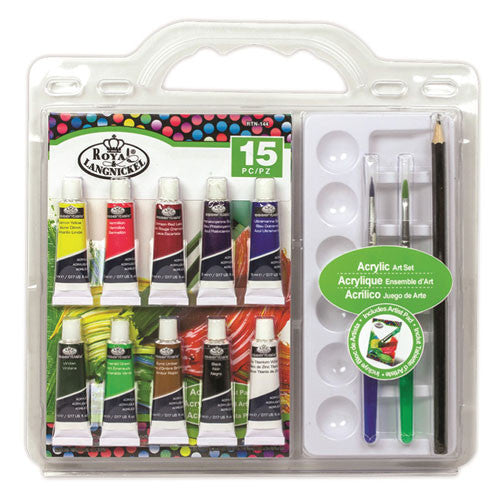 Royal Brush Art Set - Clamshell Acrylic Painting