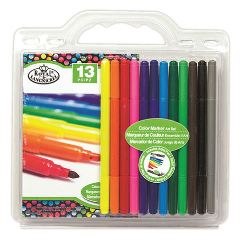 Royal Brush Art Set - Clamshell Watercolor Marker