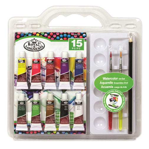 Royal Brush Art Set - Clamshell Watercolor Painting