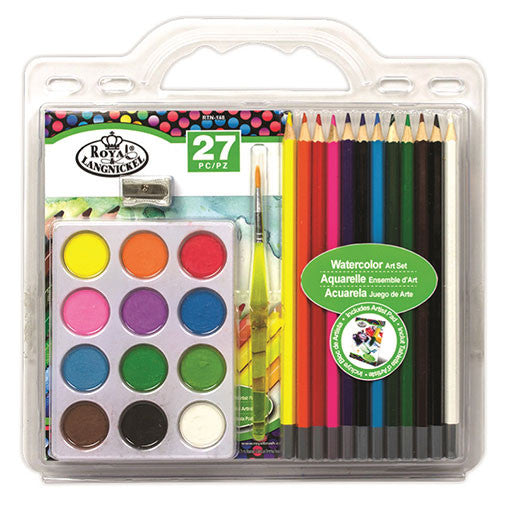 Royal Brush Art Set - Clamshell Watercolor Pencil