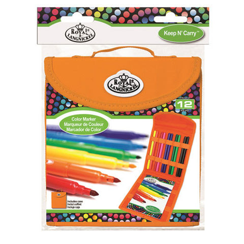 Royal Brush Set Keep N' Carry Square Color Maker