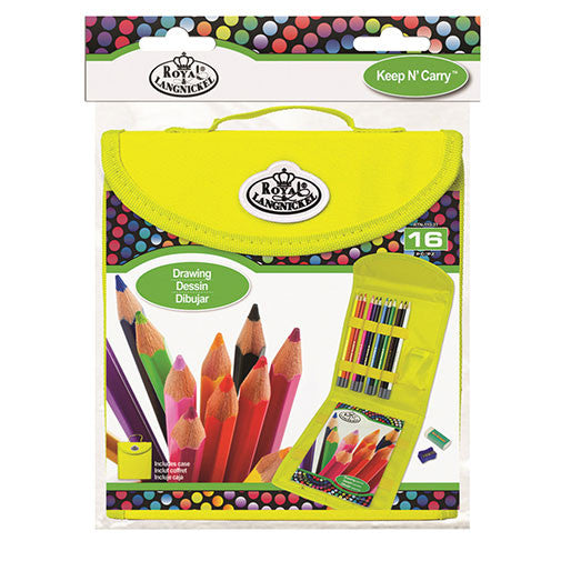 Royal Brush Set Keep N' Carry Square Drawing