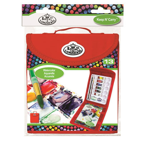 Royal Brush Set Keep N' Carry Square Watercolor