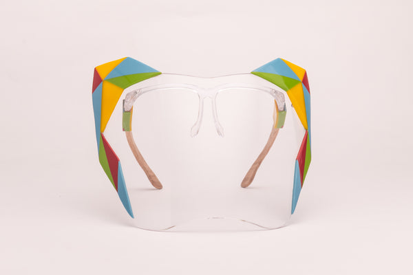 Colorful Couture Face Shield