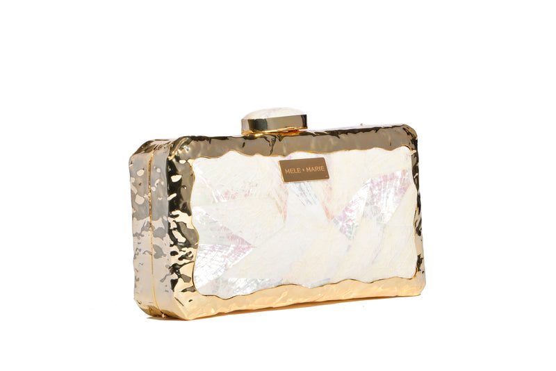 Eva Purity Bag in gold.