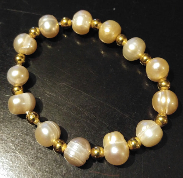 Flower Girl pearl bracelet