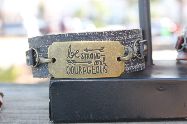 Be-Strong-Leather-Cuff