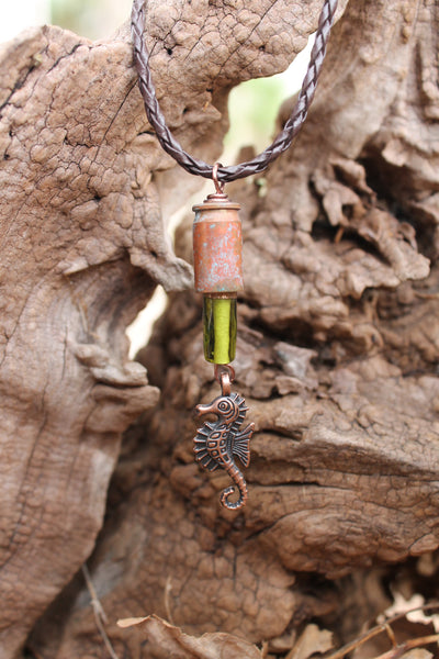 Seahorse-Patina-Bullet-Necklace