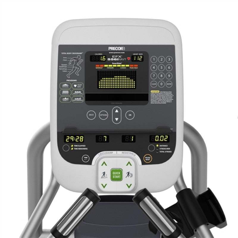 Precor EFX 556i Elliptical Crosstrainer Experience Series