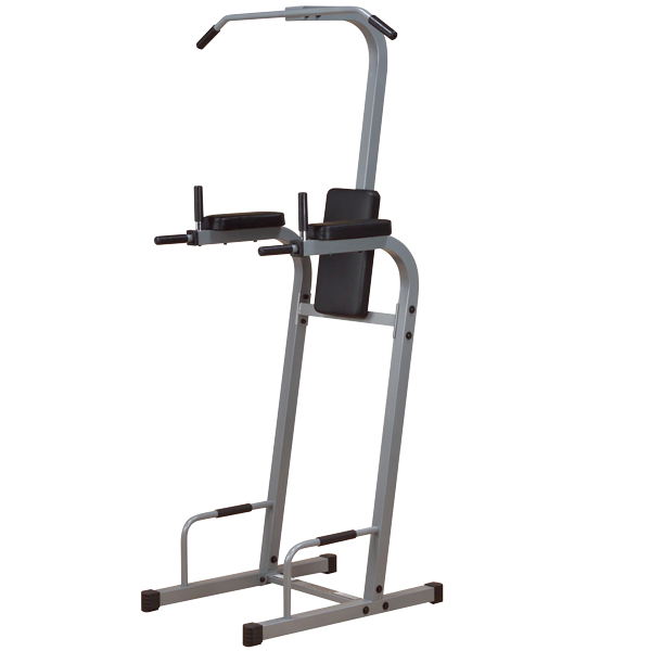 New 2021 Body-Solid Vertical Knee Raise, Push Up, Pull Up, Chin & Dip Station