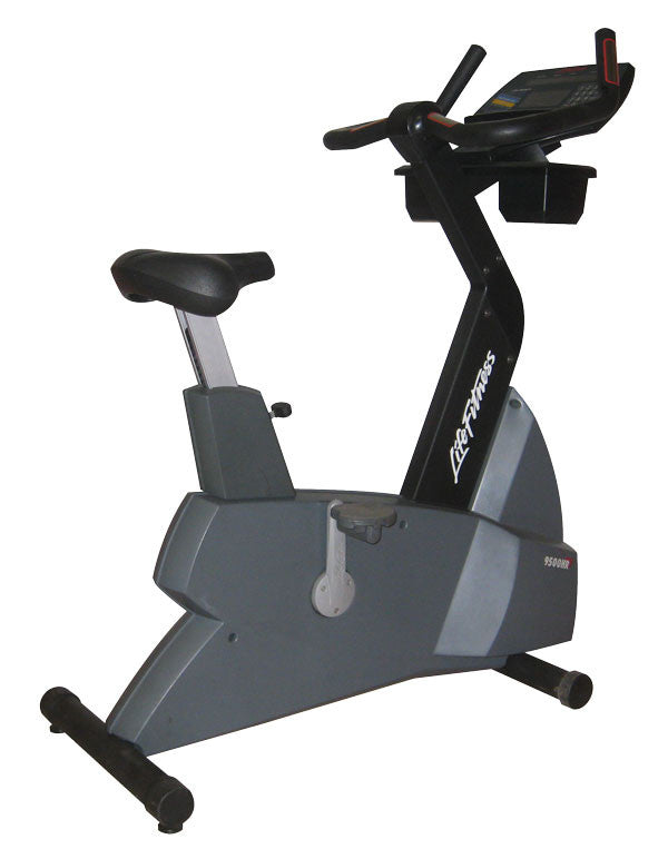 LifeFitness 9500 HR Upright Bike