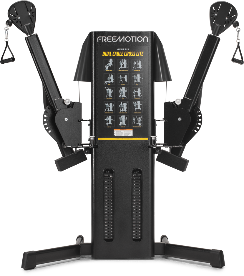 New 2020 Freemotion Genesis Dual Cable Cross Lite G424 New Gen Ext Gym Experts