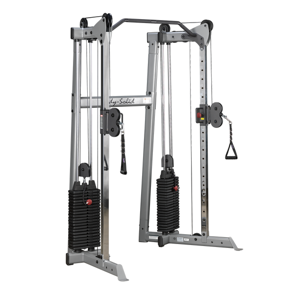 New 2020 Body Solid Compact 2 Stack Commercial Functional Trainer
