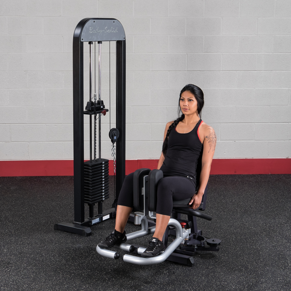 New 2020 Body-Solid Inner-Outer Thigh Machine with Weight Stack