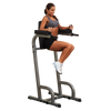 Body-Solid Vertical Knee Raise & Dip Station