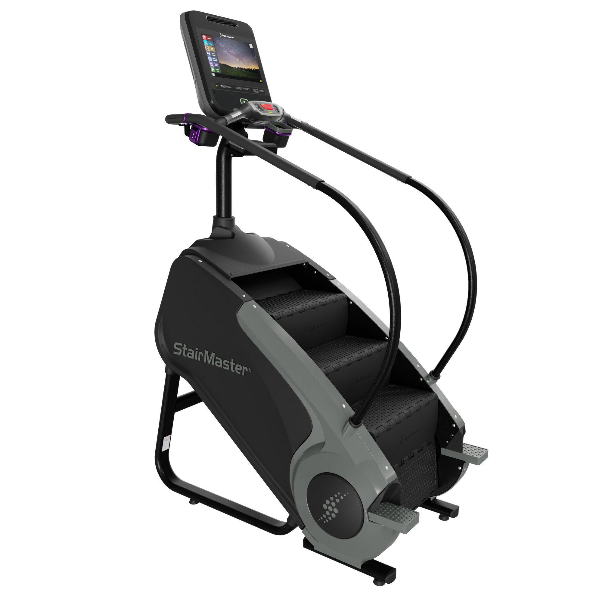 New 2019 StairMaster 8 Series Gauntlet Stepmill with 15-inch ATSC Embedded Console
