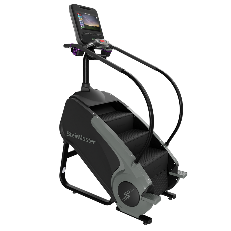 New 2021 StairMaster 8 Series Gauntlet Stepmill with 15-inch ATSC Embedded Console