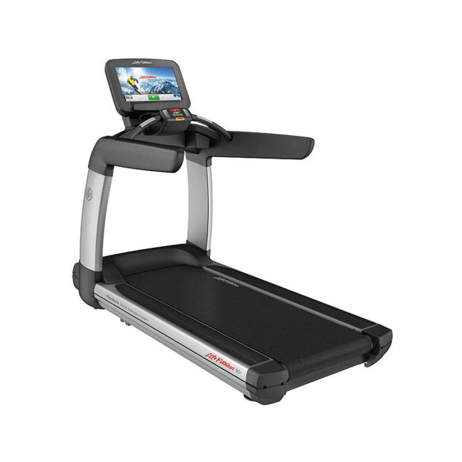 Life Fitness 95T Discover SE Elevation Series Treadmill