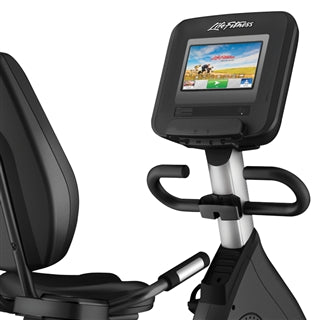 Life Fitness Discover SI Elevation Recumbent Bike
